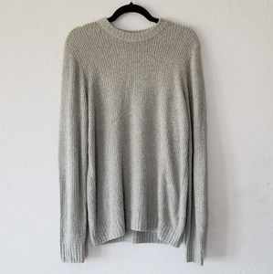 Bloomingdale's Gray Boucle Sweater